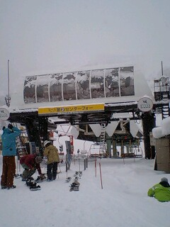 積雪5センチ程